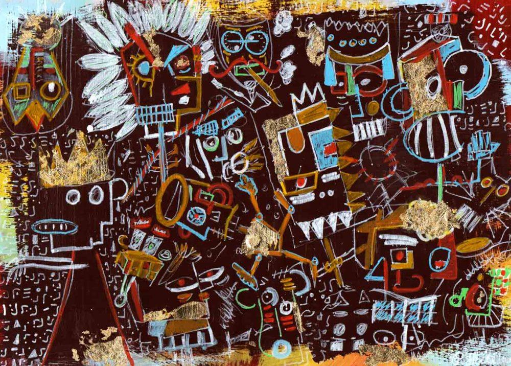 Insomnia - Painting - Thibault Herlédan - Large