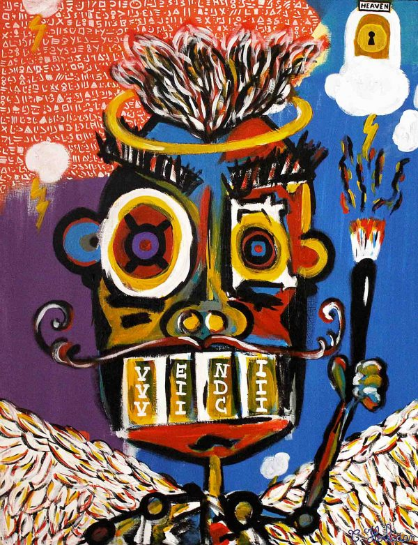 The creator - Painting - Thibault Herlédan - Large