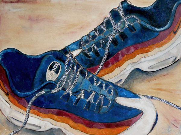 Air Max 95 - Painting - Thibault Herlédan - Large
