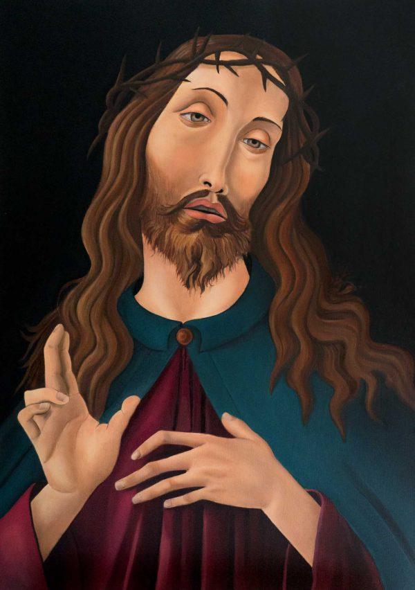 Ecce Homo - Painting - Thibault Herlédan - Large