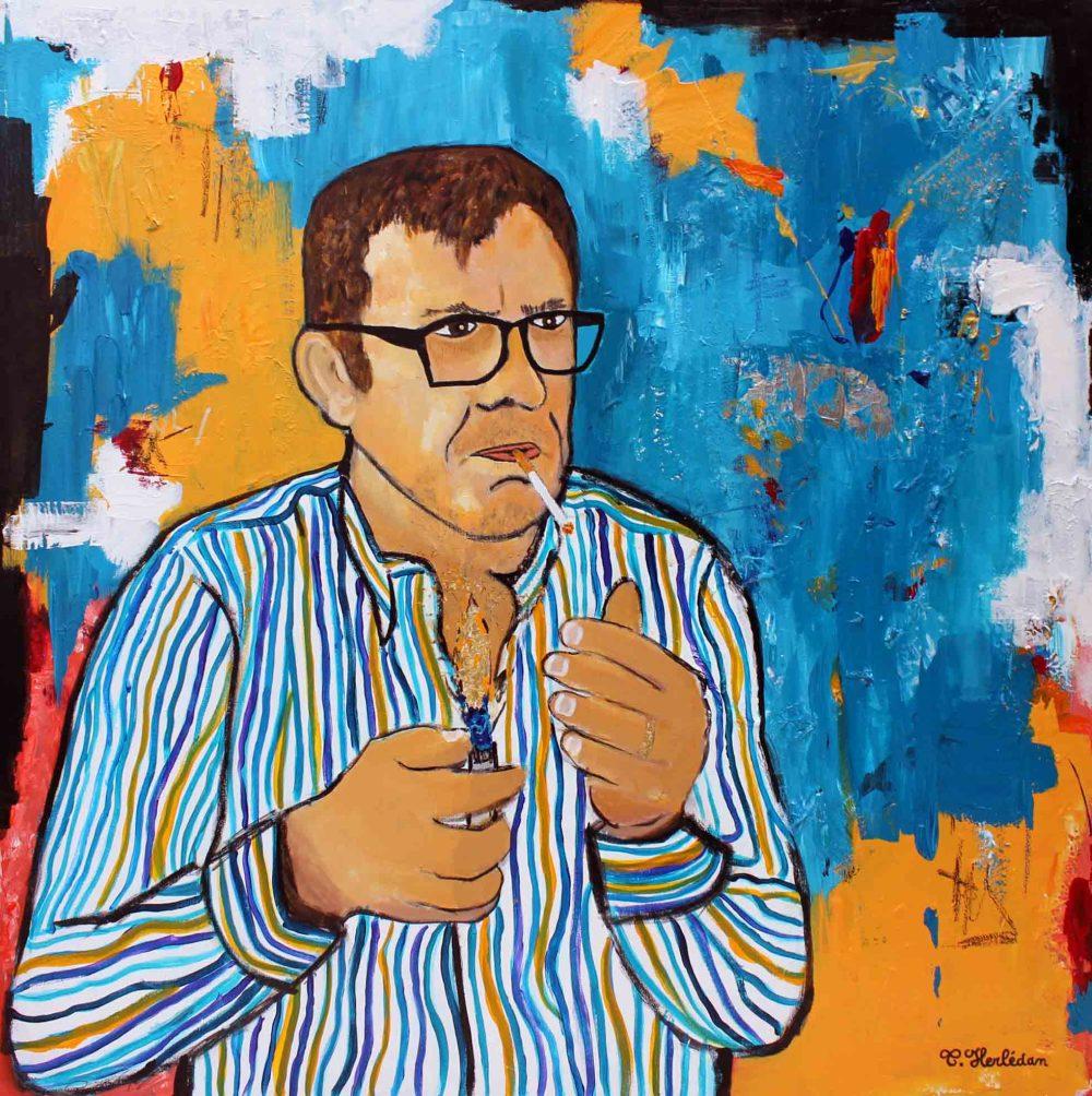 JM Orain - Acrylic painting