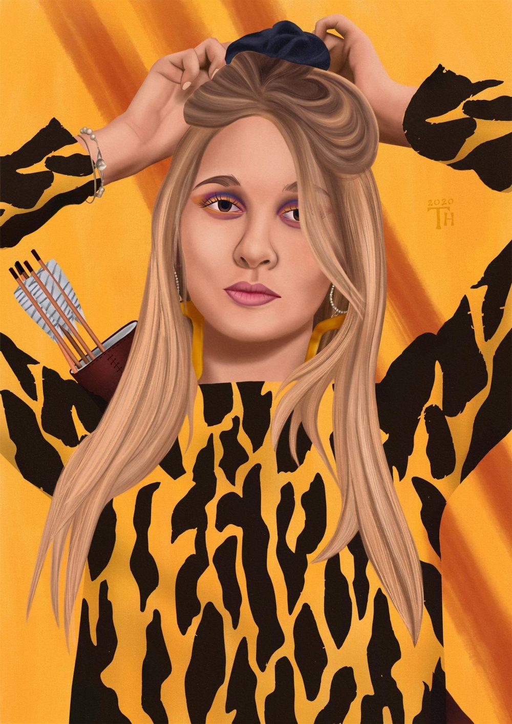 Lolita Jungle - Digital Painting - Thibault Herlédan