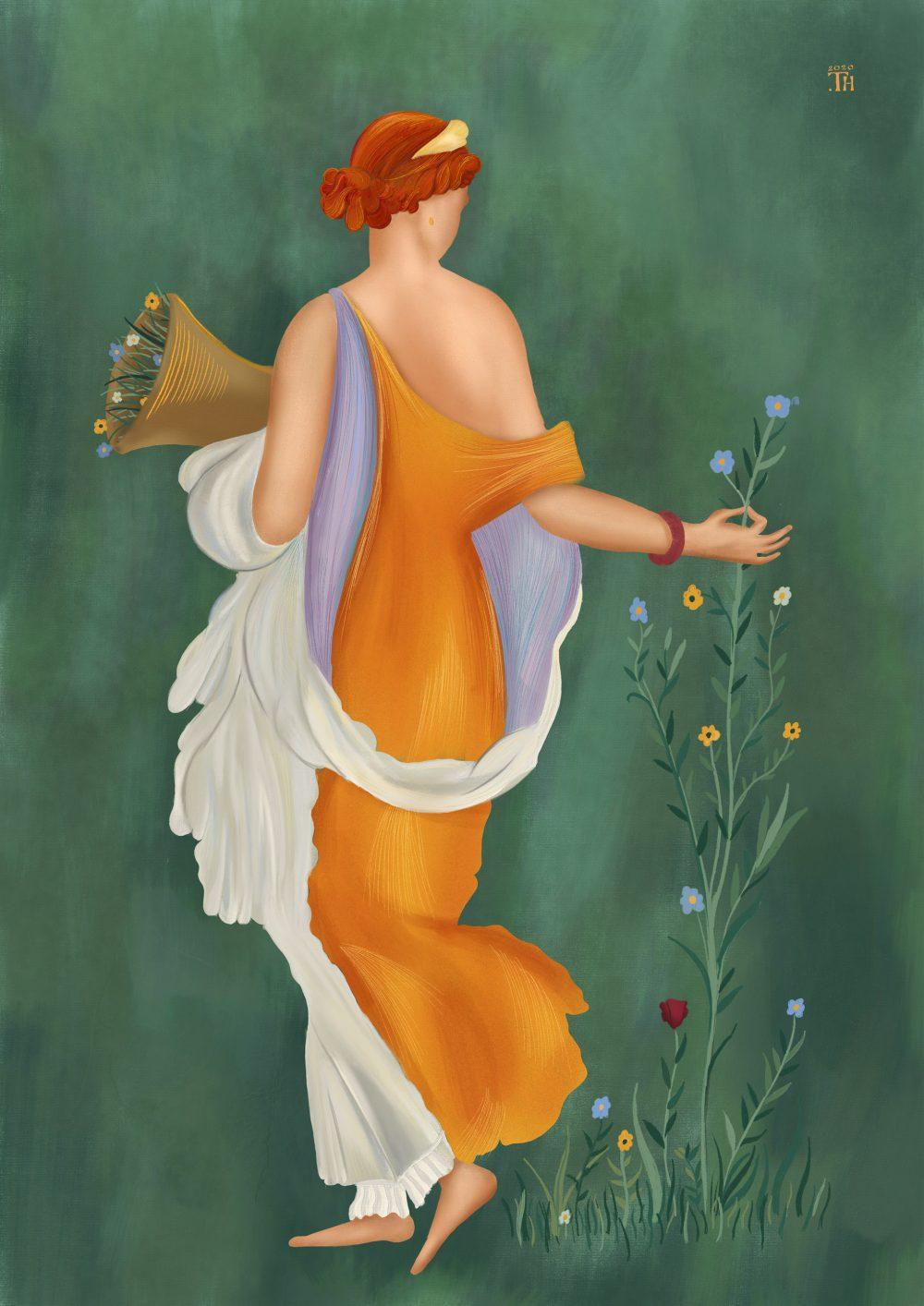 Primavera - Digital Painting - Thibault Herledan