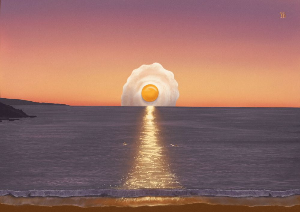 Sunset & Uovo - Digital Painting - Thibault Herlédan