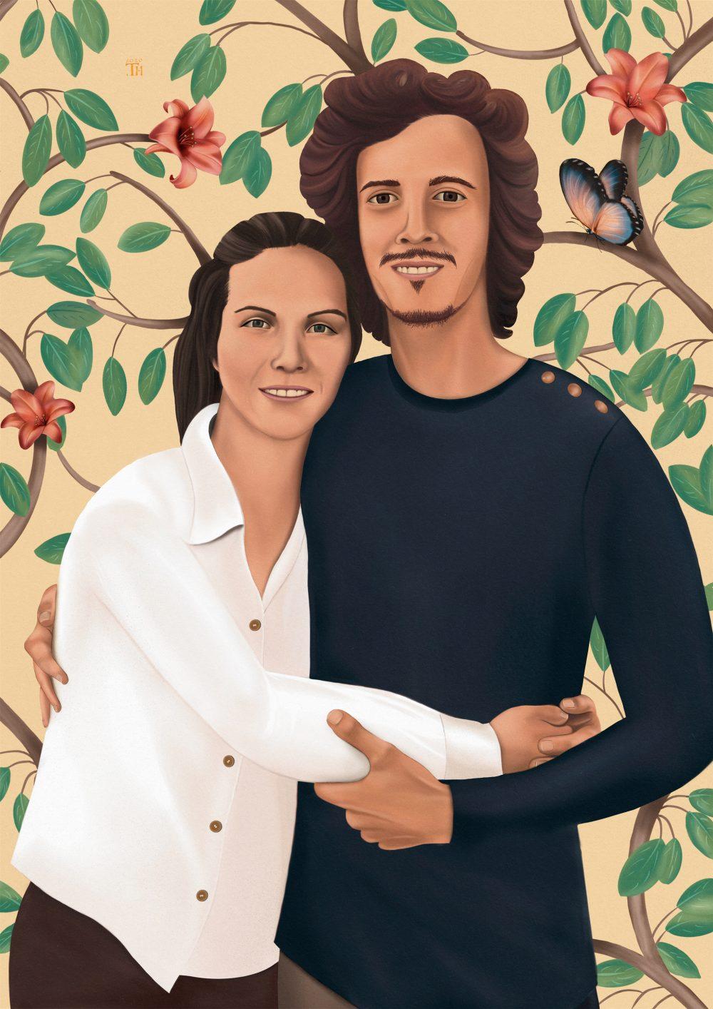 Alice & Agustin - Digital Painting - Thibault Herlédan